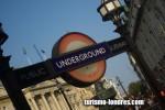 Símbolo del metro de Londres